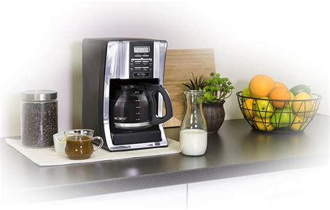 Wake up to a freshly brewed pot of coffee in the morning, or set up ahead of time when entertaining to serve with ease. Mr. Coffee BVMC-SJX33GT 12-Cup Programmable Coffeemaker, Chrome | Best Coffee Site