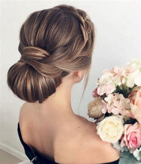 cuisine chignons chignon wedding hairstyle montenr