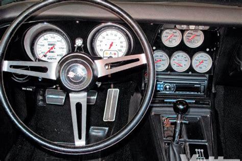 corvette gauge cluster   update aging