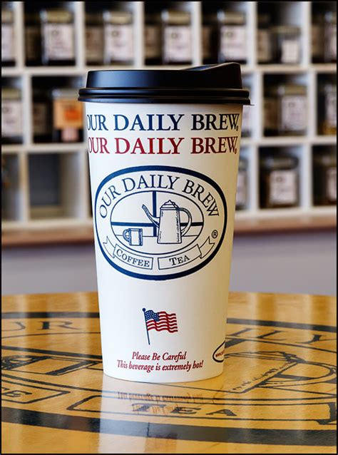 Downtown coffee shops by renee m. American flag on a cup from a coffee shop in Fort Wayne Indiana   Photograph by Christopher Crawford