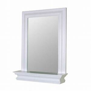 elegant home fashions stratford 24 in x 18 in framed With the benefit of white bathroom mirror