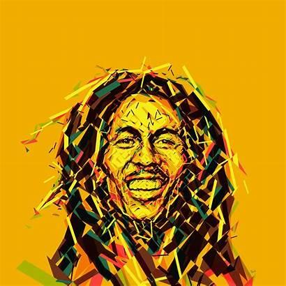 Marley Bob Golden Pattern Ipad Wallpapers Ilikewallpaper