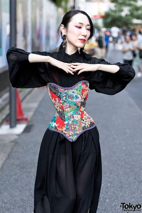 Handmade Japanese Corsets by Unisex Peanuts on the Street ...