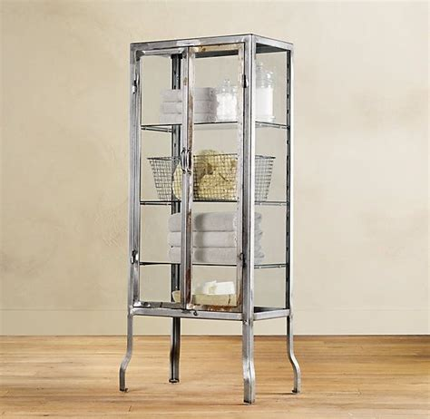 Glass Bathroom Cabinets by Pharmacy Large Cabinet For The Home Bath Cabinets
