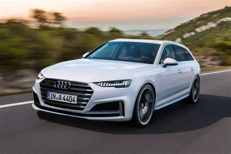 Here's What The Facelifted 2019 Audi A4 Family Will Look Like