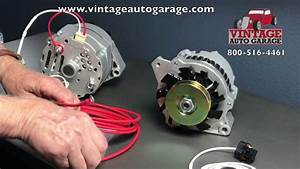Alternator Connection How To Connect Plug And Output Wire