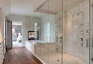 modele douche a l39italienne 74 idees pour l39amenager With porte d entrée pvc avec modele de salle de bain douche italienne