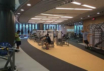Sports Centre Leng Keng Tiu Gym Flooring