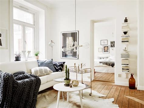 2 Apartments With Design Elements by Small Apartment In Sweden Design Elements