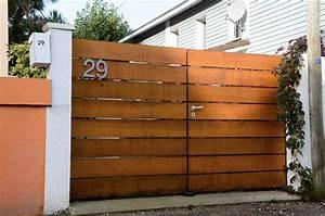 Portail En Bois : fabriquer portail bois ~ Premium-room.com Idées de Décoration