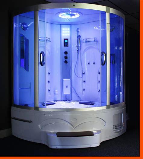 Jet Shower Tub by Big Steam Shower Room Whirlpool Tub W Heater 1500w