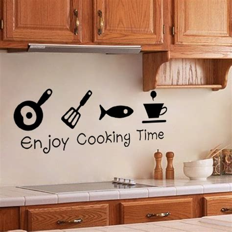 wall stickers for kitchen design new design creative diy wall stickers kitchen decal home 8887