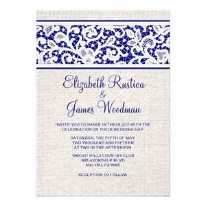 shop royal blue wedding invitations on wanelo With royal blue rustic wedding invitations