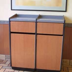 custom   bin trash recycling cabinet  joeys