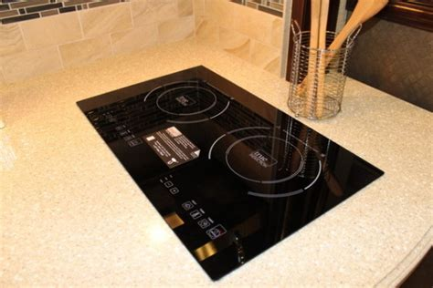RV Induction Cooktop Renovation, rv furniture, rv cooktop