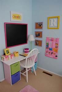 ideas para decorar zonas de estudio infantiles With cheap desks for girls