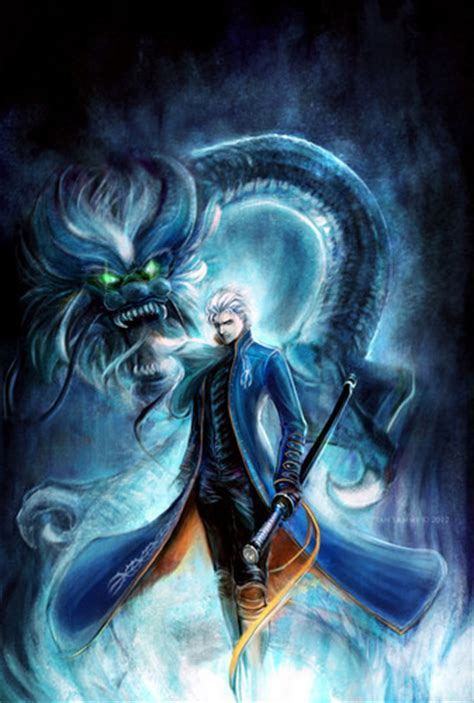 Vergil Images Dark Dragon Hd Wallpaper And Background