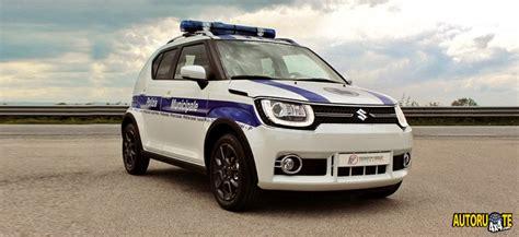 L'ibrido Suzuki Per Le Auto Delle Forze Dell'ordine