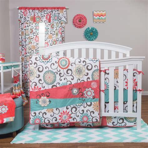 trend lab waverly pom pom play 4 crib bedding set free shipping today overstock 17941472