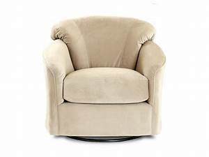 Klaussner living room swivel glider chair 12 swgl for Swivel glider chairs living room