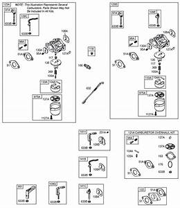 Briggs And Stratton 203400 Parts Diagrams