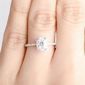 . Carat Princess Cut Diamond Ring On Hand Trends For ...