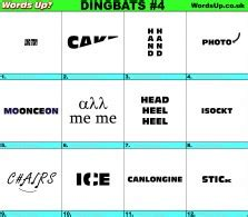 Touch started jan 23, 2021. Words Up? Dingbats | Over 610 Rebus Puzzles!