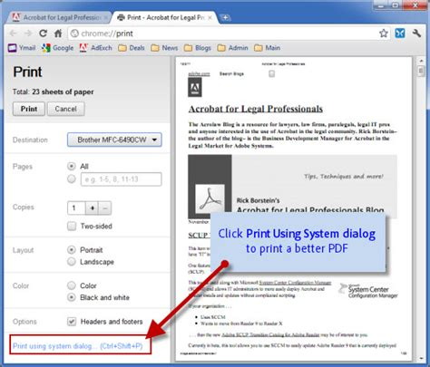 Get Reader or Acrobat to work in Chrome, Compact PDF