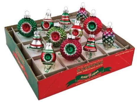 reproduction vintage christmas ornaments