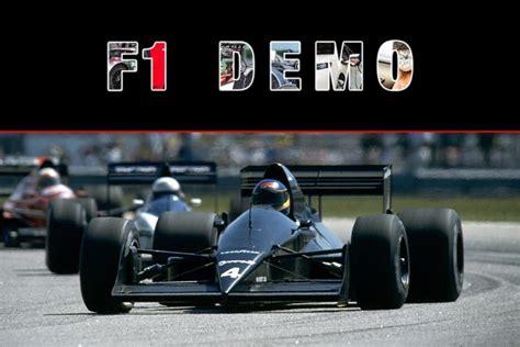 Formule 1 Live Demoshow Tijdens De International Amsterdam