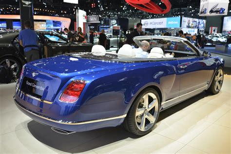 bentley shows grand convertible  la production depends