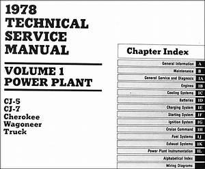 1978 Jeep Cj5 Wiring Diagram : 1978 jeep repair shop manual original all models 3 ~ A.2002-acura-tl-radio.info Haus und Dekorationen