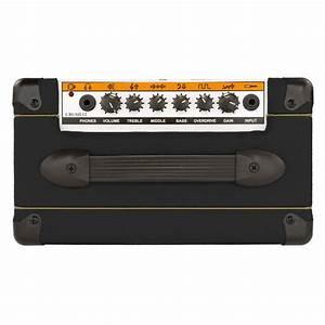 Ampli Wifi Orange : orange crush 12 guitar combo amp black at gear4music ~ Melissatoandfro.com Idées de Décoration