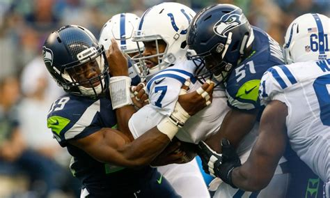 seattle seahawks   defense shows early signs  life