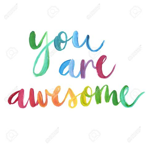 Awesome Clip You Are Awesome Clipart Cilpart