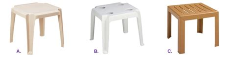 resin side tables resin tables pool furniture belson