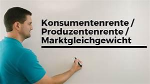 Konsumenten Und Produzentenrente Berechnen : konsumentenrente produzentenrente marktgleichgewicht berufskolleg wirtschaft verwaltung youtube ~ Themetempest.com Abrechnung