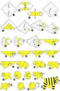 Origami De Tigre