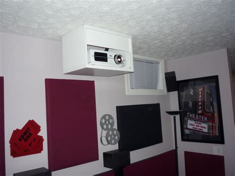 diy projector mount drop ceiling recommended mount for epson 8500ub avs forum home