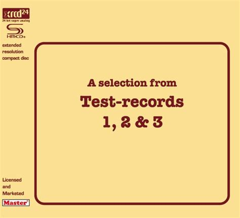 Opus 3  A Selection From Test Records 1, 2 & 3