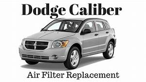 How To Replace Air Filter 2007