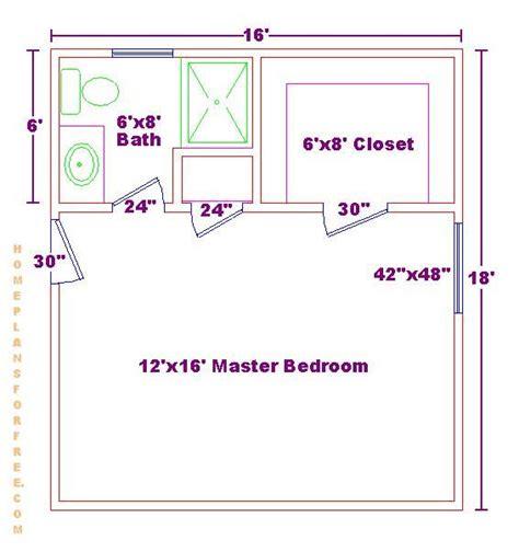 master bedroom floor plan master bedroom 12x16 floor plan with 6x8 bath and walk in
