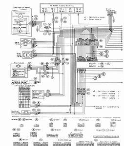 Subaru Forester 2009 Wiring Diagram