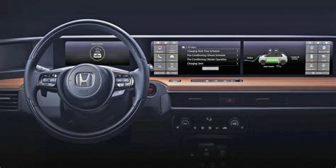 honda reveals  interior image    electric