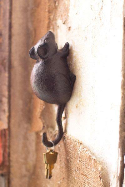 cast iron mouse wall hook decorative wall hooks wall