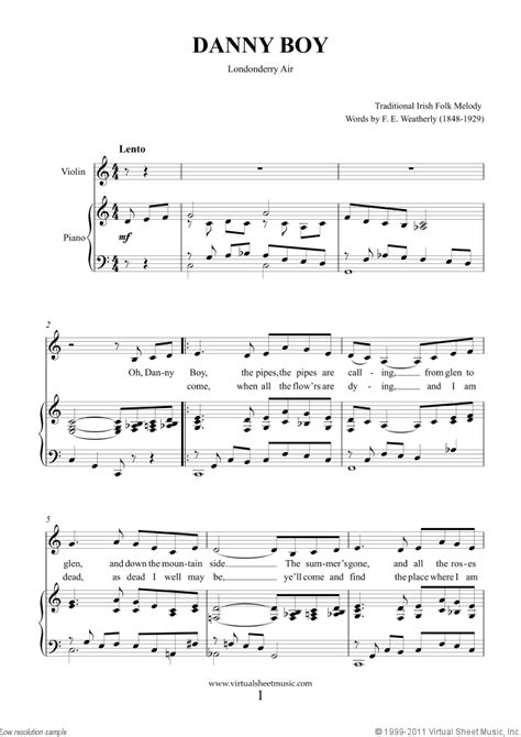Vocalise, and bach's air on the g string. Saint Patrick's Day Collection, Irish Tunes and Songs sheet music for violin and piano