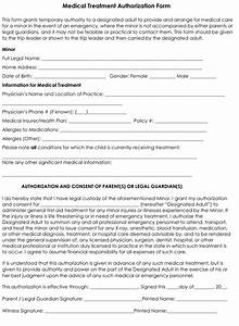 child medical consent form templates 6 samples for word With medication consent form template