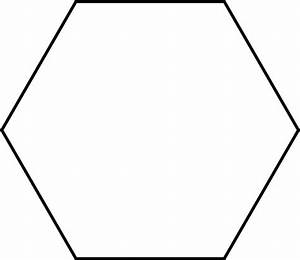 Large Hexagon For Pattern Block Set