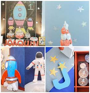Kara's Party Ideas Astronaut + Rocket Ship Birthday Party ...