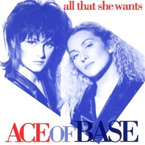 arista purple ace of base all that she wants
